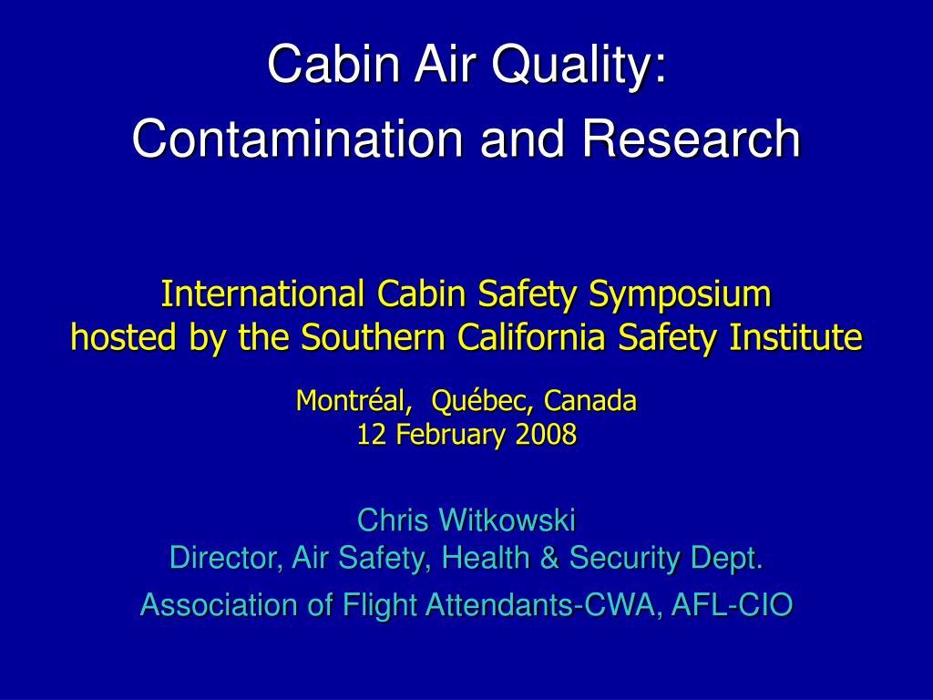International Cabin Safety Symposium