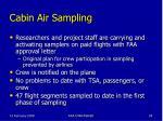 cabin air sampling28