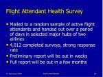 flight attendant health survey26