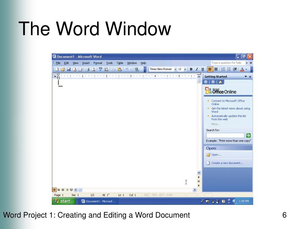 The Word Window