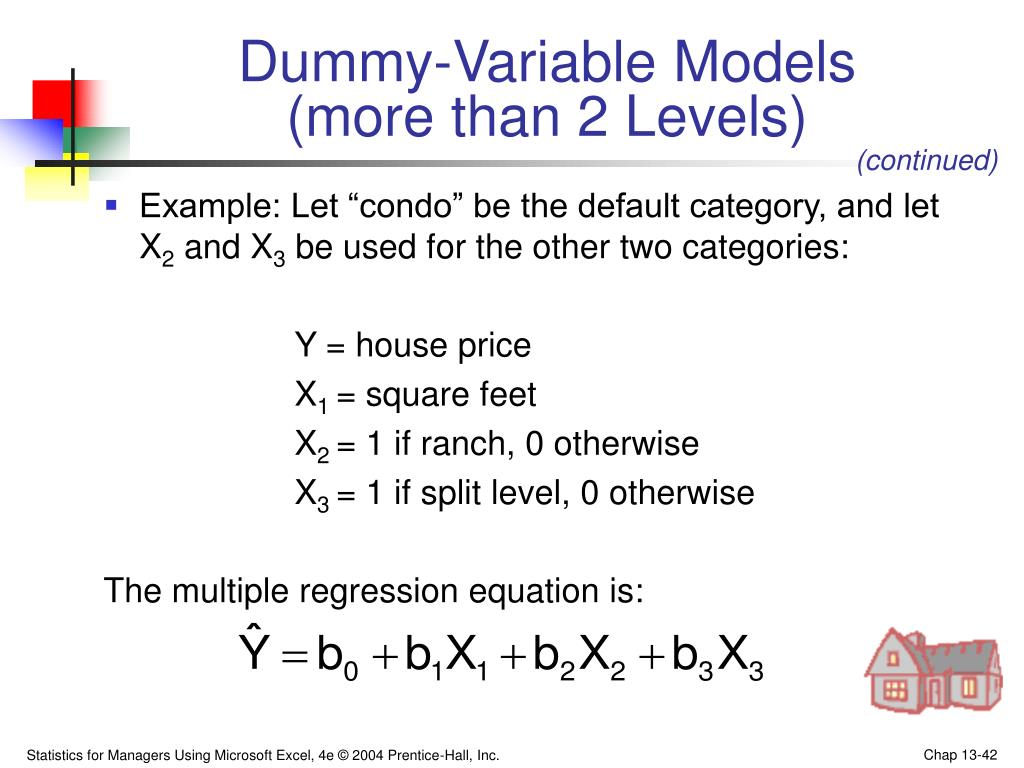 Dummy-Variable Models