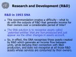 research and development r d3