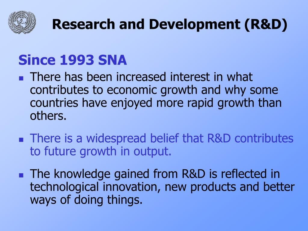 Research and Development (R&D)