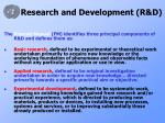research and development r d8