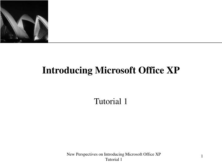Introducing microsoft office xp