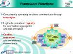framework functions