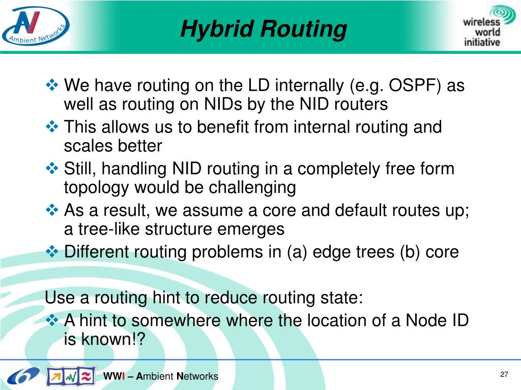 Hybrid Routing