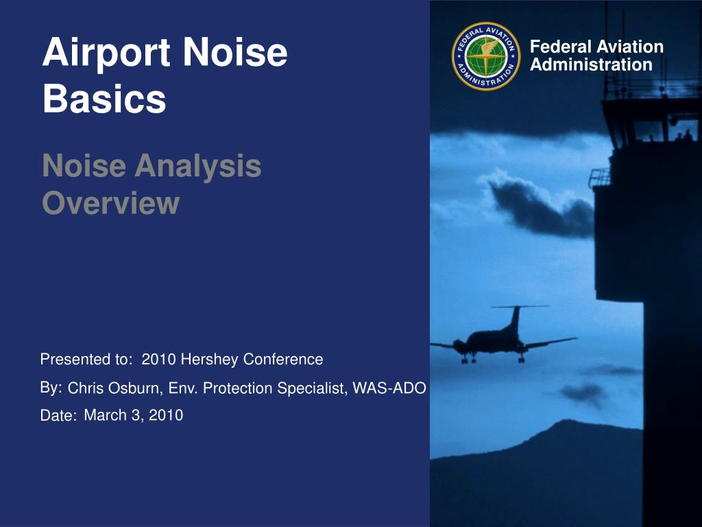 airport noise basics