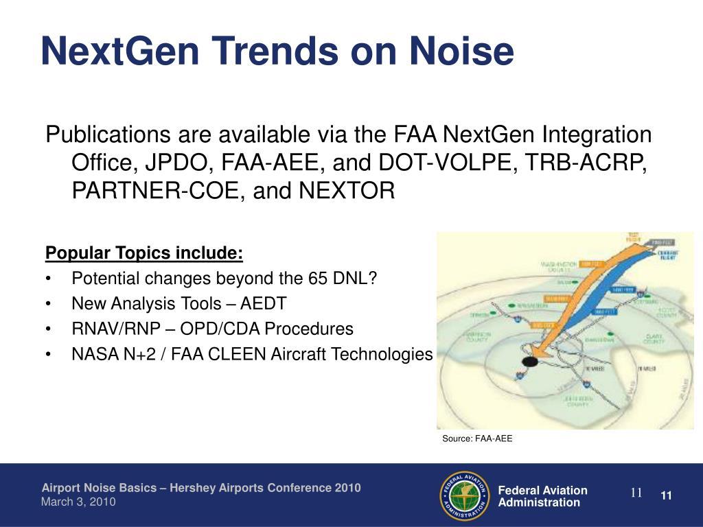 NextGen Trends on Noise