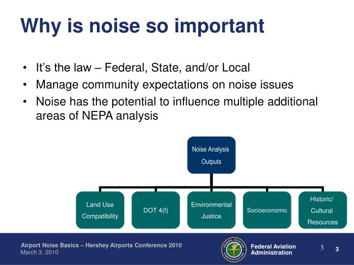Why is noise so important