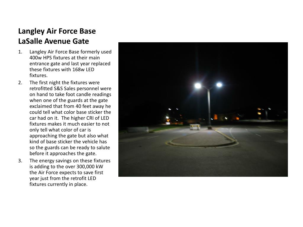 Langley Air Force Base LaSalle Avenue Gate