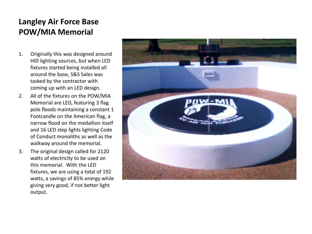 Langley Air Force Base POW/MIA Memorial