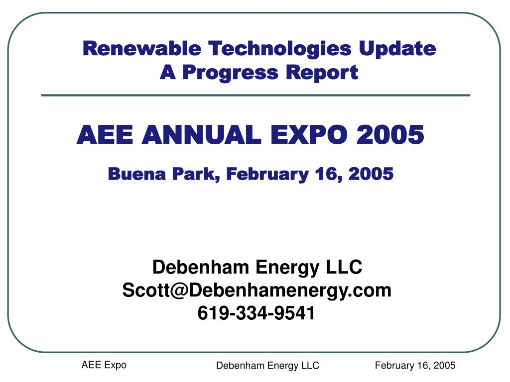AEE ANNUAL EXPO 2005