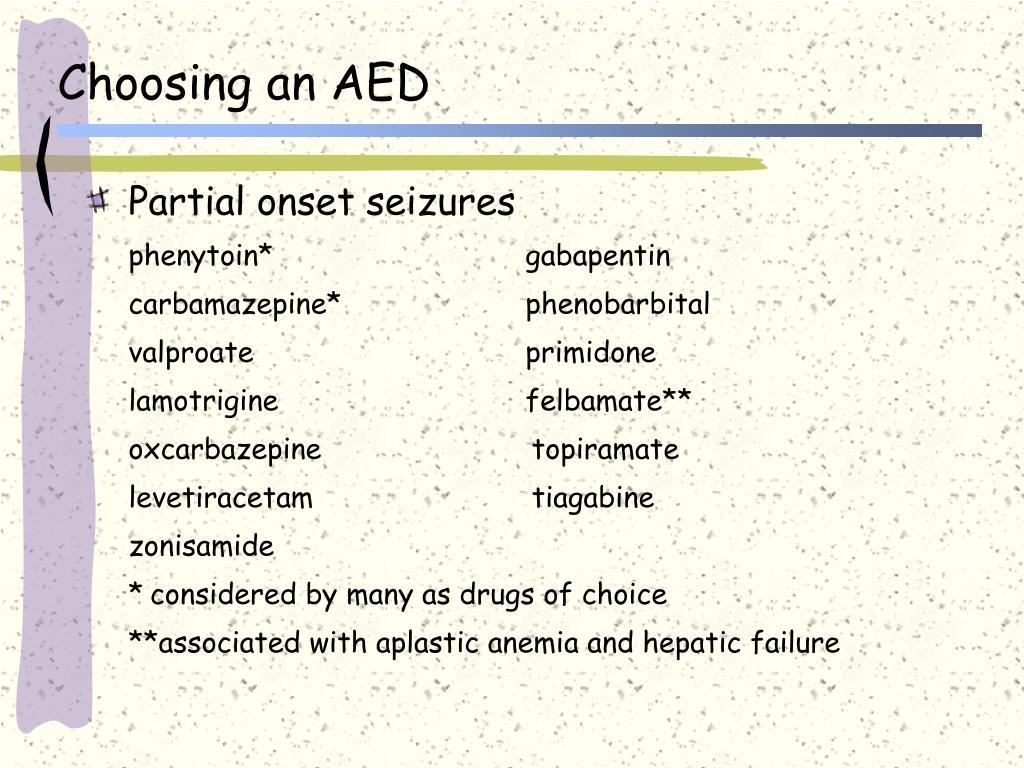 Choosing an AED