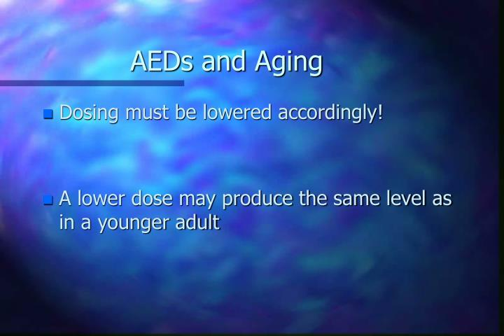 AEDs and Aging