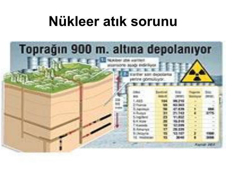 Nükleer atık sorunu