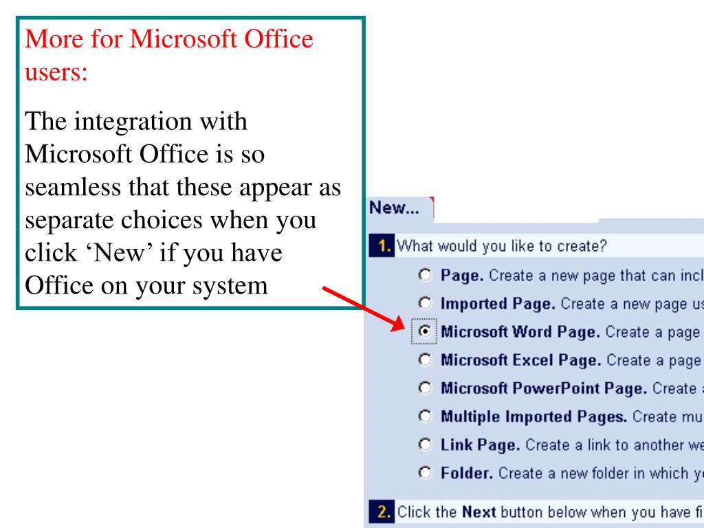 More for Microsoft Office users:
