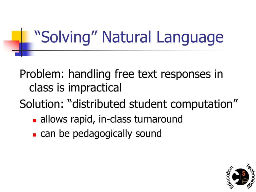 """Solving"" Natural Language"