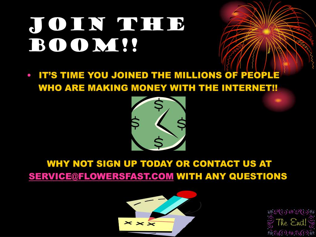 JOIN THE BOOM!!