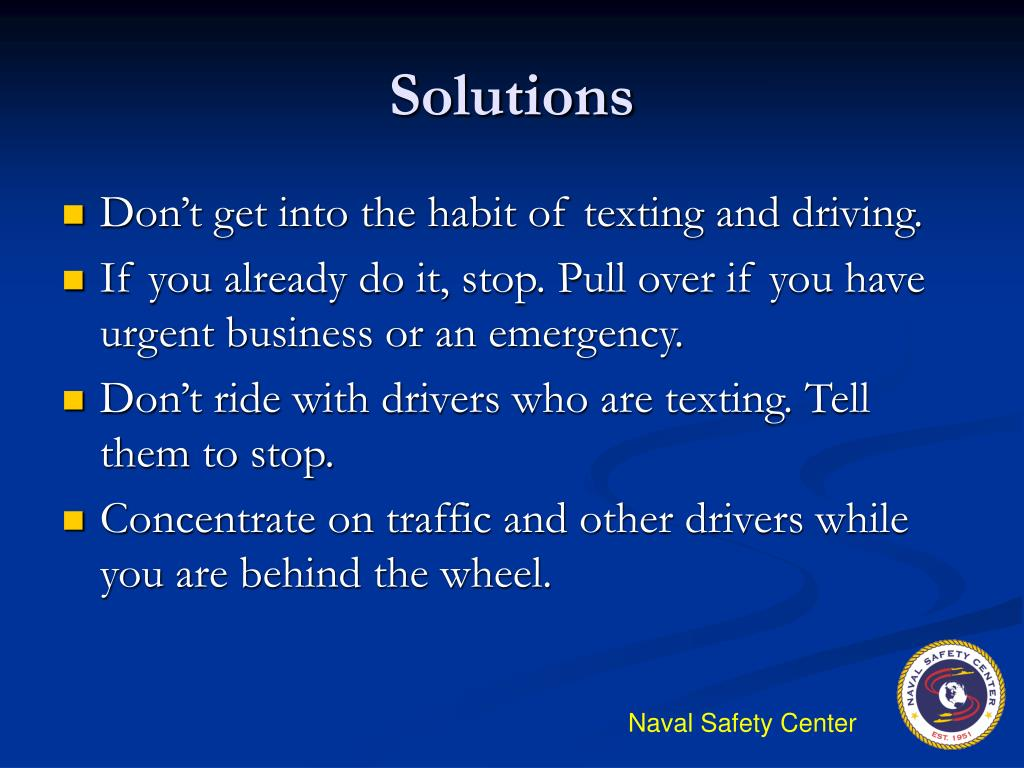Textign And Driving >> PPT - Texting While Driving -- Another Kind of Impairment PowerPoint Presentation - ID:168546