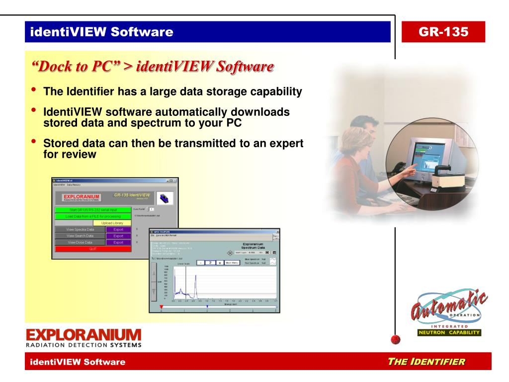 identiVIEW Software