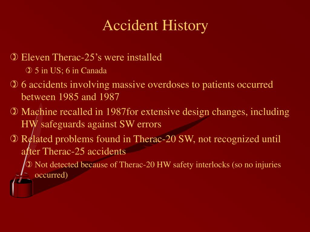 Accident History