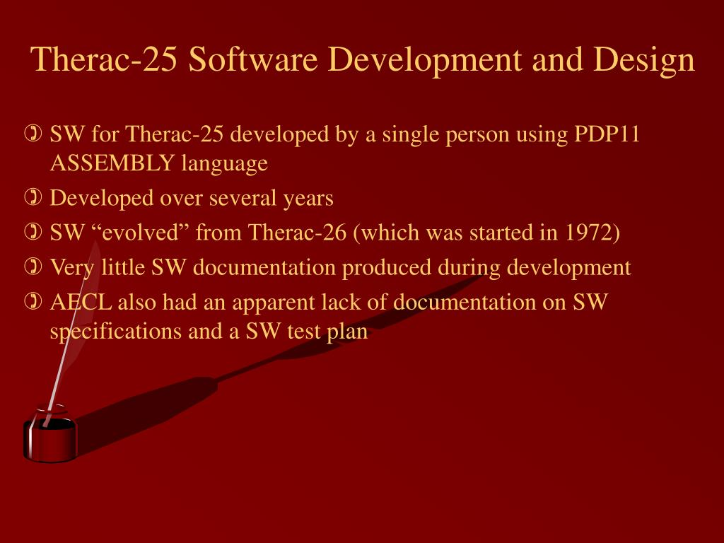 Therac-25 Software Development and Design