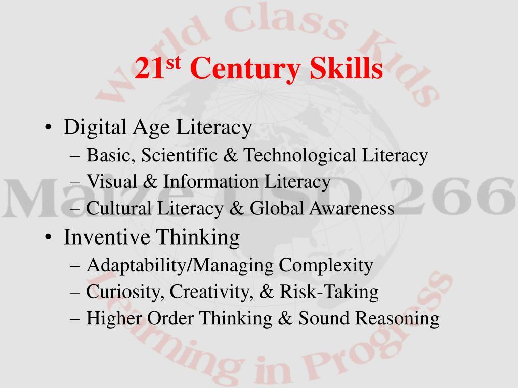 Digital Age Literacy