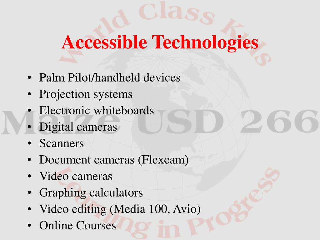 Palm Pilot/handheld devices
