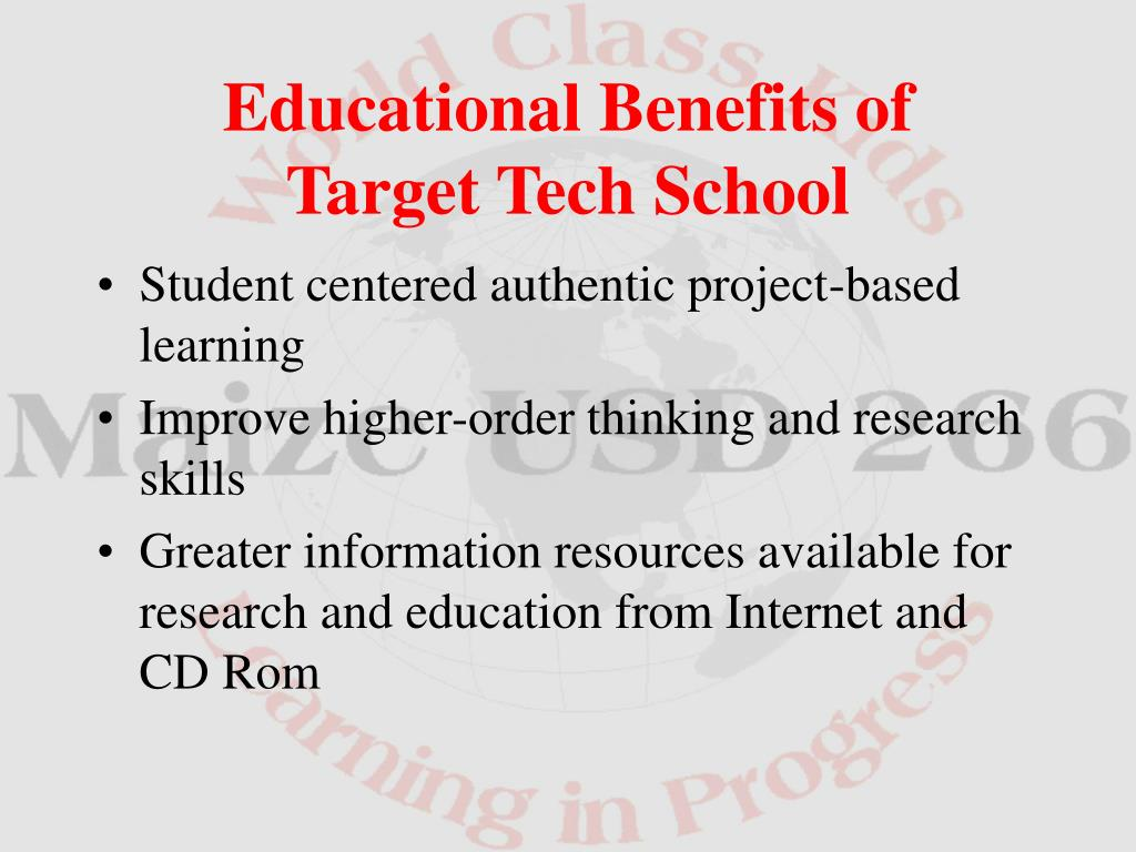 Student centered authentic project-based learning