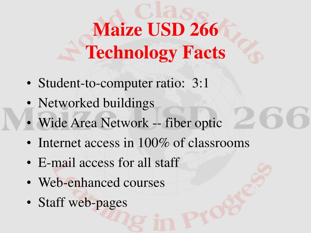 Student-to-computer ratio:  3:1
