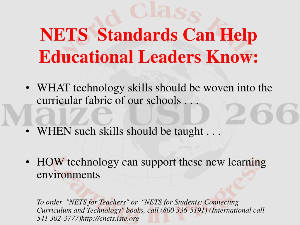WHAT technology skills should be woven into the curricular fabric of our schools . . .