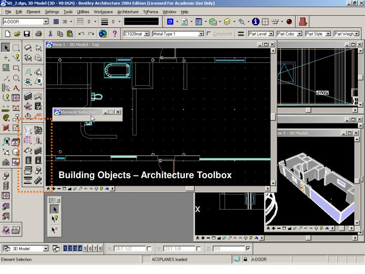 Building Objects – Architecture Toolbox