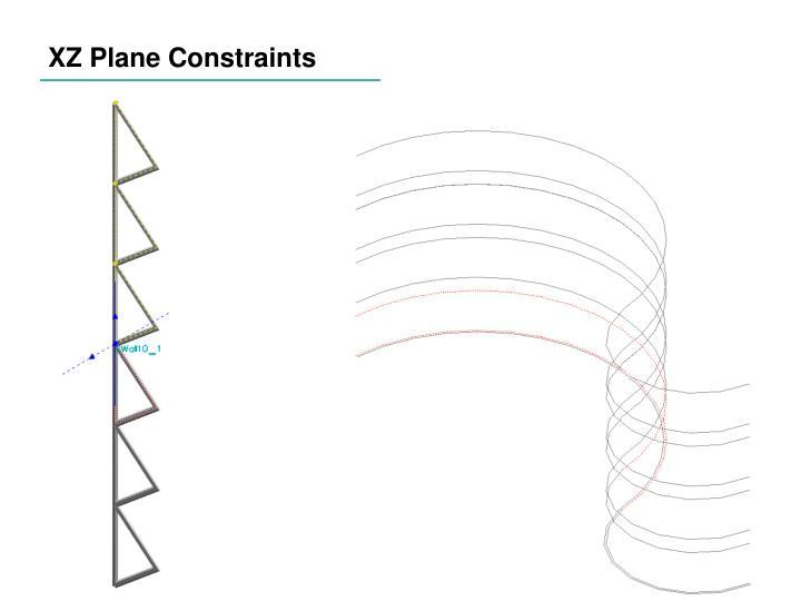XZ Plane Constraints