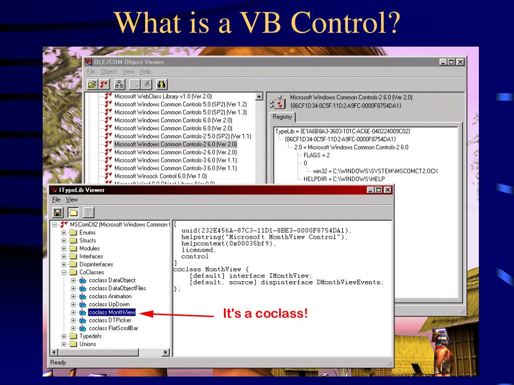 What is a VB Control?