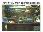 nnn0fcc main operating position
