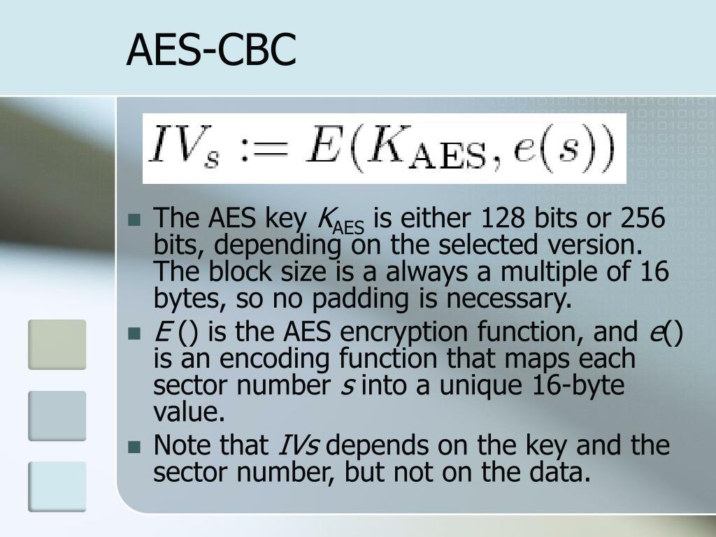 AES-CBC