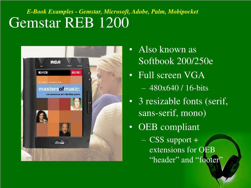 Gemstar REB 1200