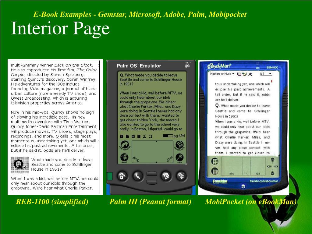 Interior Page