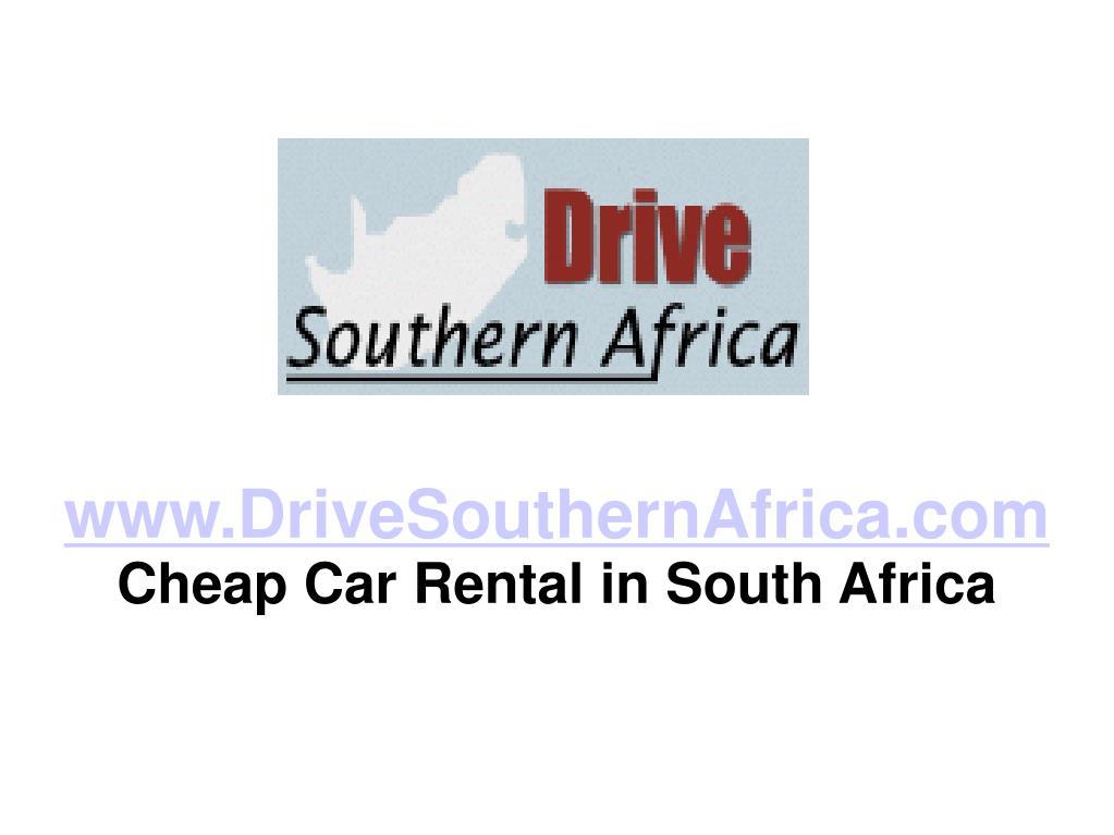 www.DriveSouthernAfrica.com