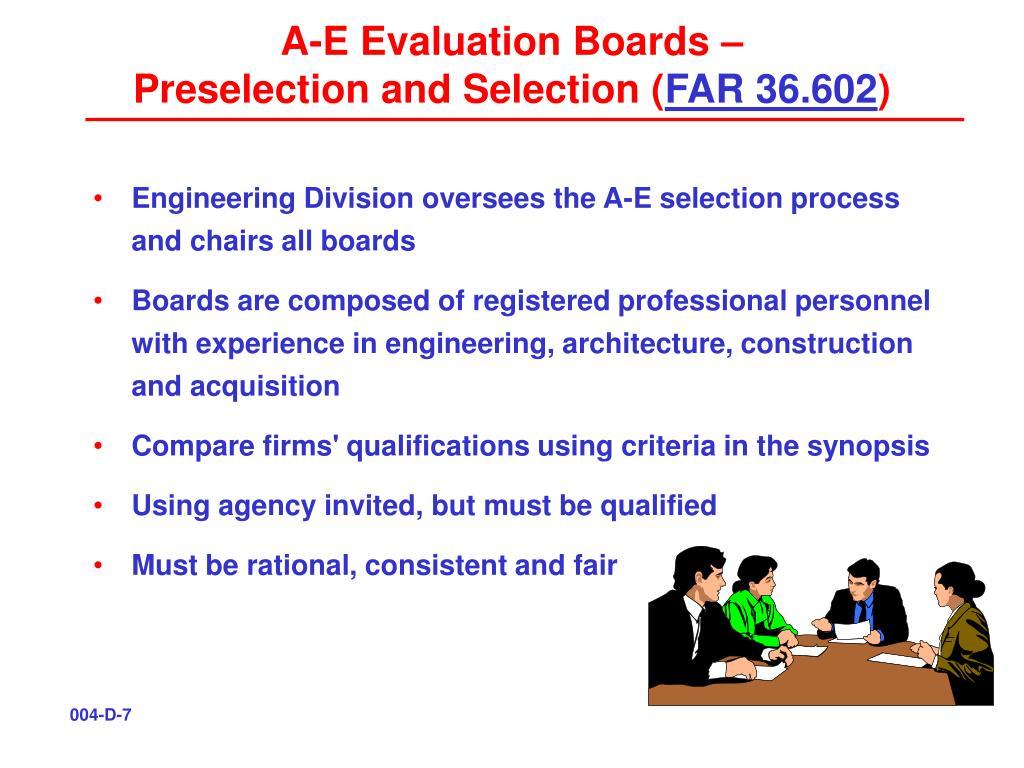 A-E Evaluation Boards –