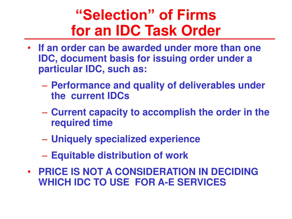 """""""Selection"""" of Firms"""