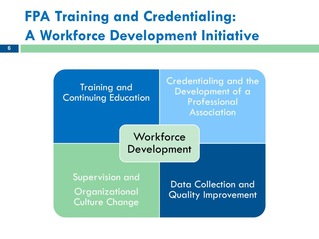 FPA Training and Credentialing: