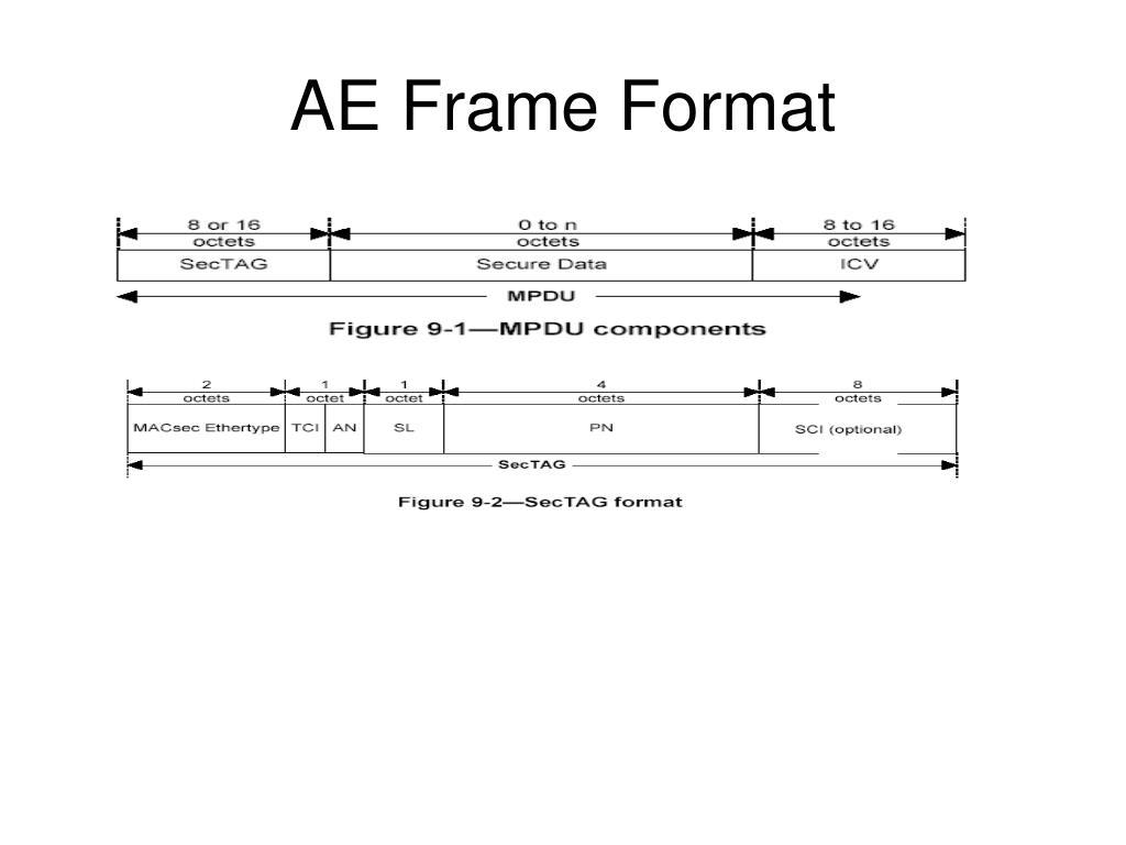 AE Frame Format