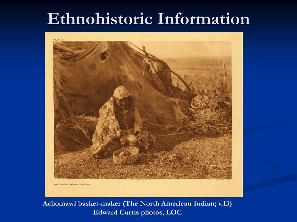 Ethnohistoric