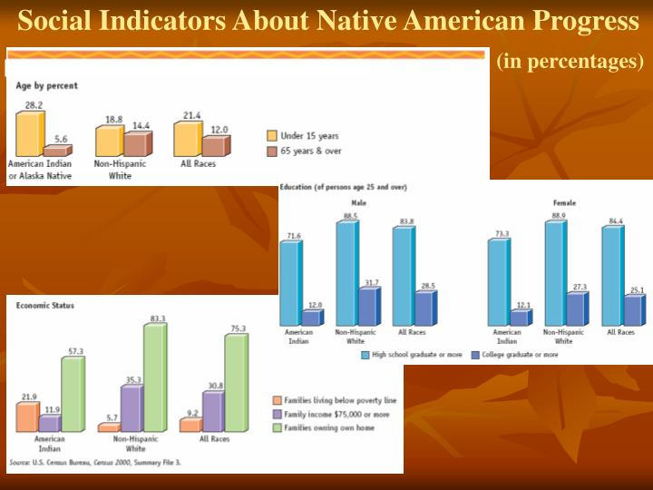 Social Indicators About Native American Progress