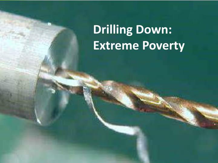 Drilling Down: