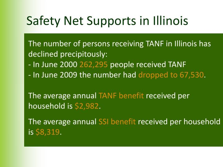 Safety Net Supports in Illinois