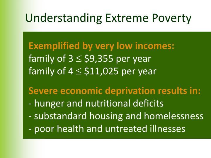 Understanding Extreme Poverty
