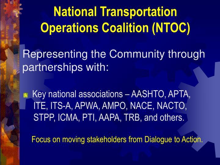 National Transportation Operations Coalition (NTOC)